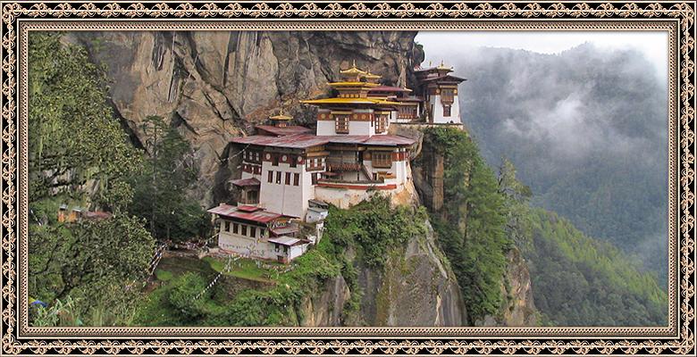 """Monastério """"Tiger Nest"""" no Butão"""