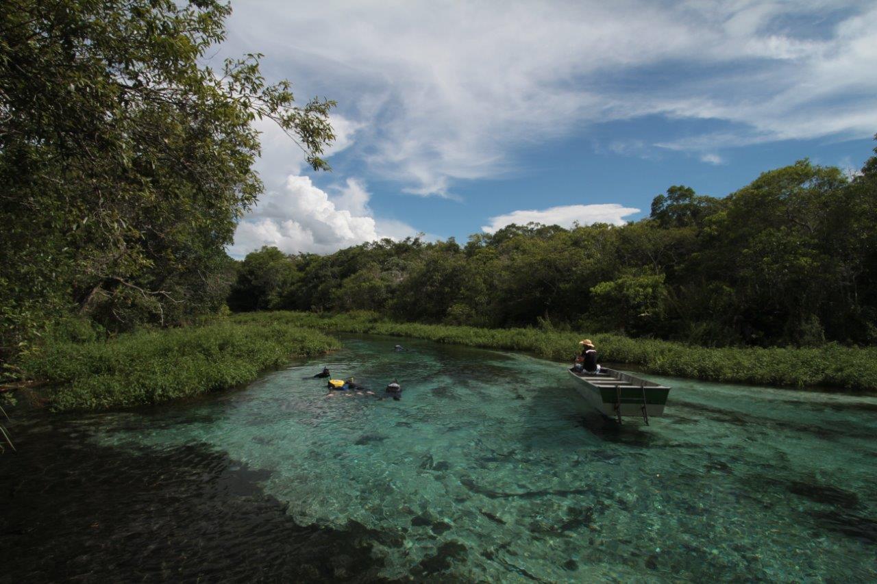 Flutuação Rio Sucuri. Foto André Turatti - Os 5 melhores destinos de ecoturismo no Brasil