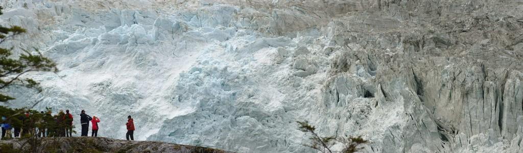 Glaciar na Patagônia