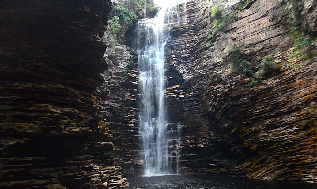 Cachoeira do Buracão Lucas Jasper 1 - Turismo de Natureza em Família: Do avô pro pai e do pai pra neta