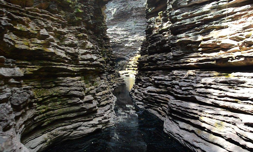 Cachoeira do Buracão Lucas Jasper 5 - Turismo de Natureza em Família: Do avô pro pai e do pai pra neta