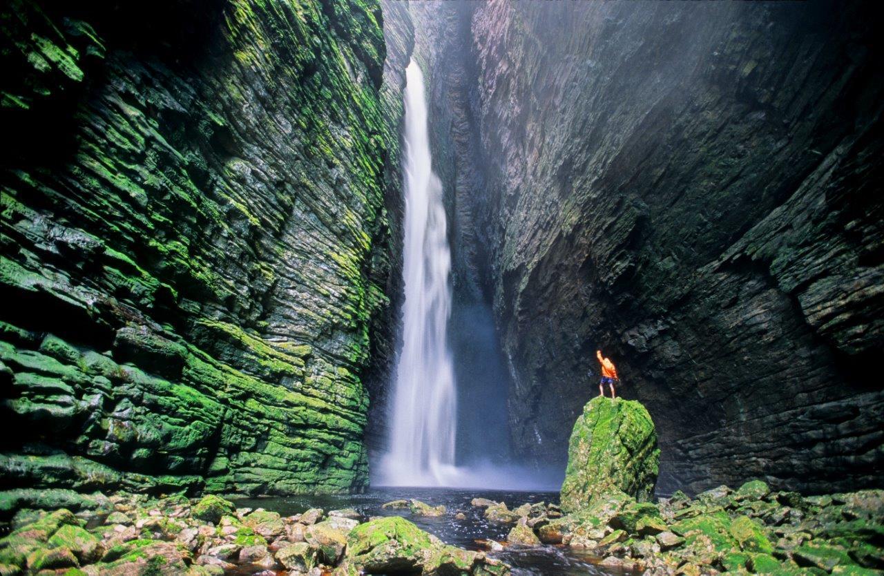 Cânion da Fumacinha Foto Alex Uchôa - Passeios na Chapada Diamantina: conheça 7 das melhores cachoeiras