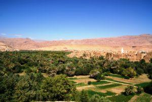 Oísis Gorges Dades 300x201 - 5 países africanos que você precisa conhecer