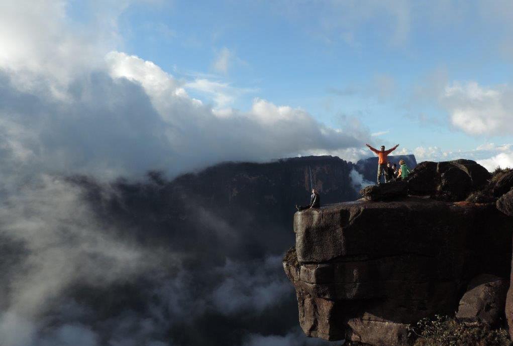 Monte Roraima Jota 5 - 7 rotas de trekking ao redor do mundo que vão te surpreender