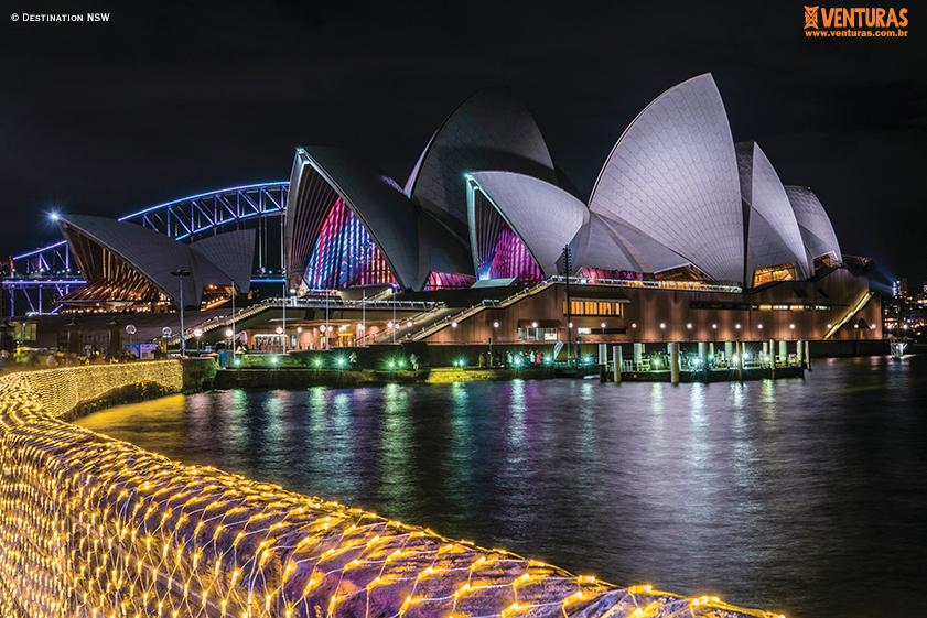 Australia Sydney Opera House Destination NSW - Austrália: Um grande país em um pequeno continente