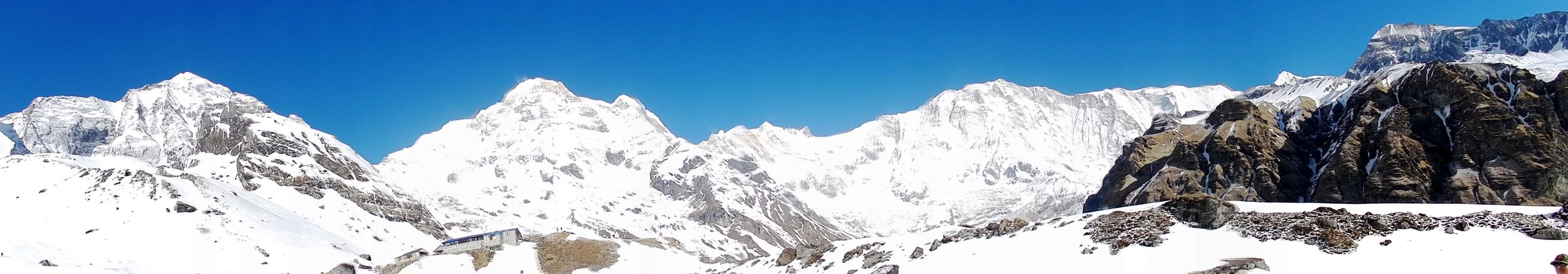 Campo Base Annapurna ABC 45 - 7 rotas de trekking ao redor do mundo que vão te surpreender
