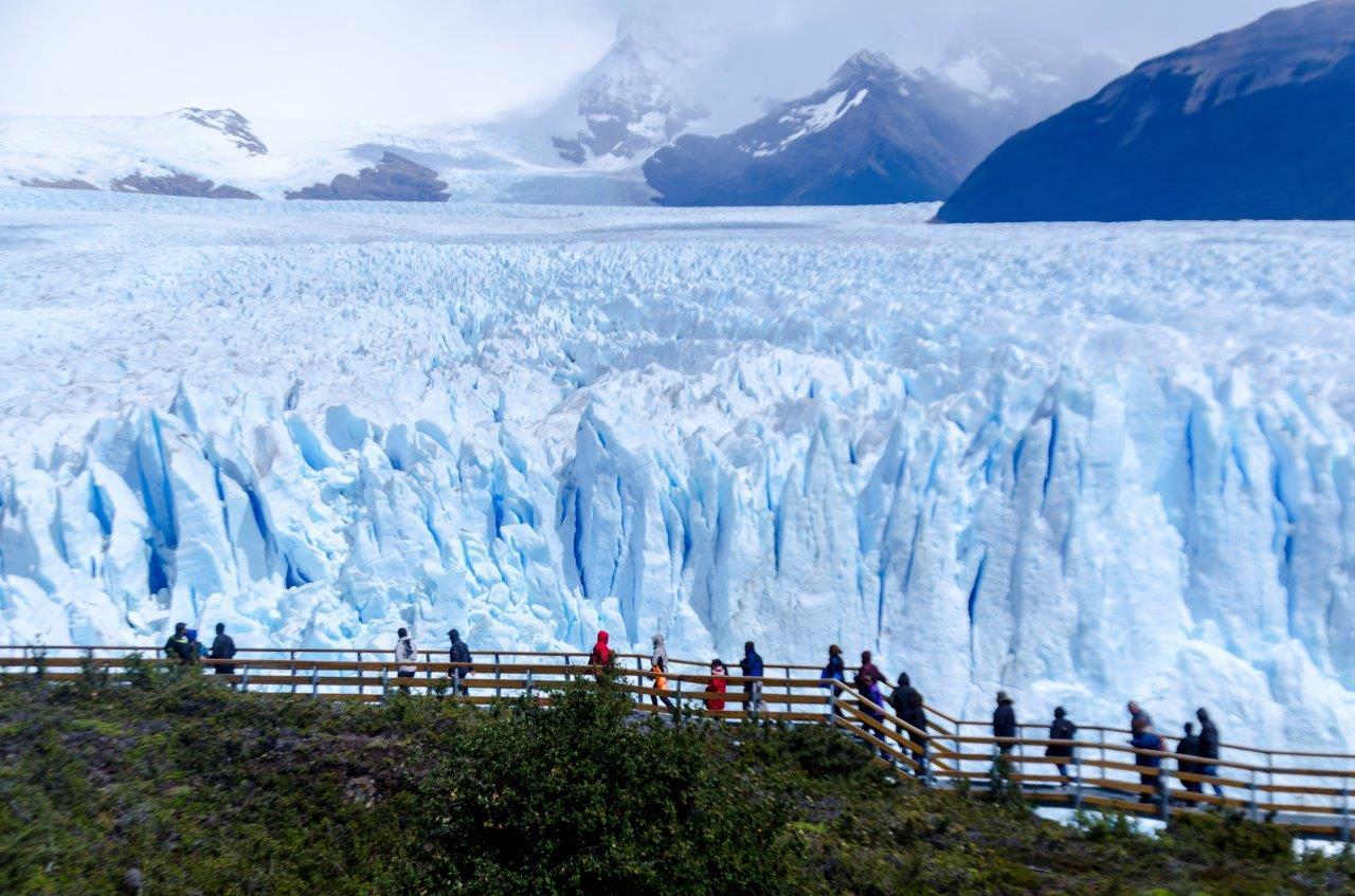 Perito Moreno Escadas 5  - Quer Viajar para a Patagônia Argentina? O que visitar em El Calafate e Ushuaia?
