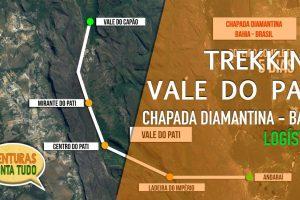 Vale do Pati, melhor logística para percorrer em 2,3,4 ou 5 dias