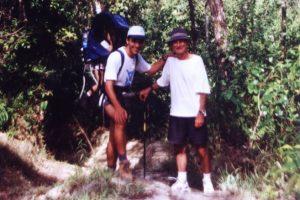 Turismo de Natureza em Família: Do avô pro pai e do pai pra neta