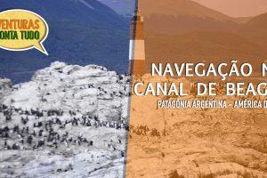 Navegação pelo canal de Beagle em Ushuaia na Patagônia