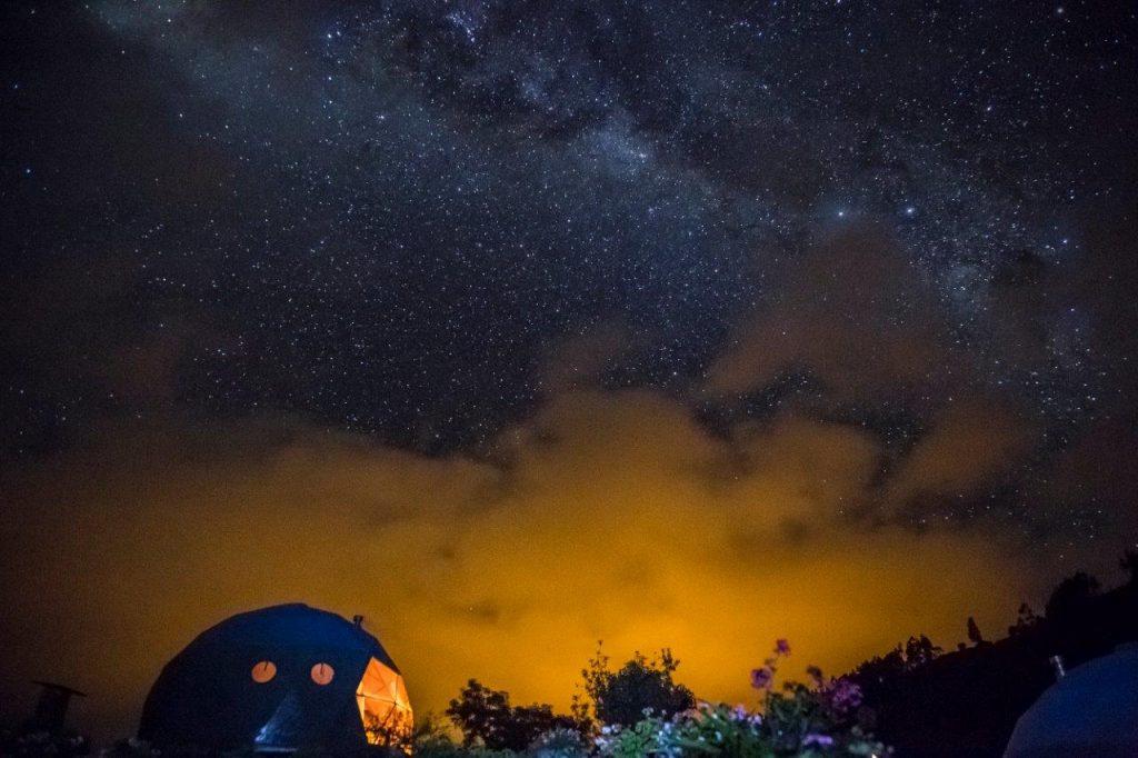 Peru ECOCAMP noite 1024x682 - Glamping: conheça o tipo de hospedagem que une acampamento e luxo