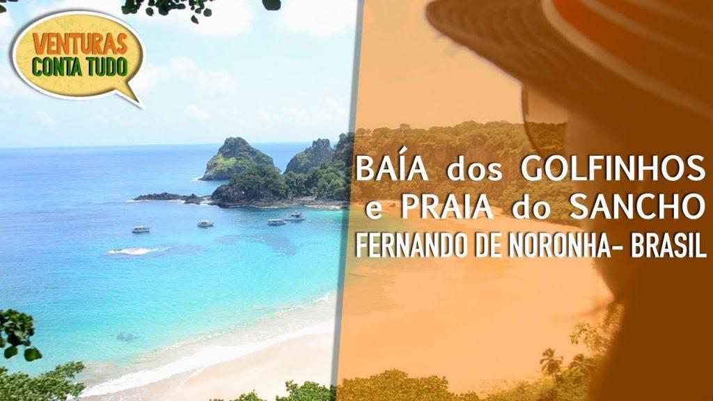 Fernando de Noronha - Baía dos Golfinhos e Praia do Sancho - Conta tudo