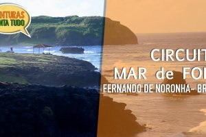 Como é o Circuito do Mar de Fora em Noronha?