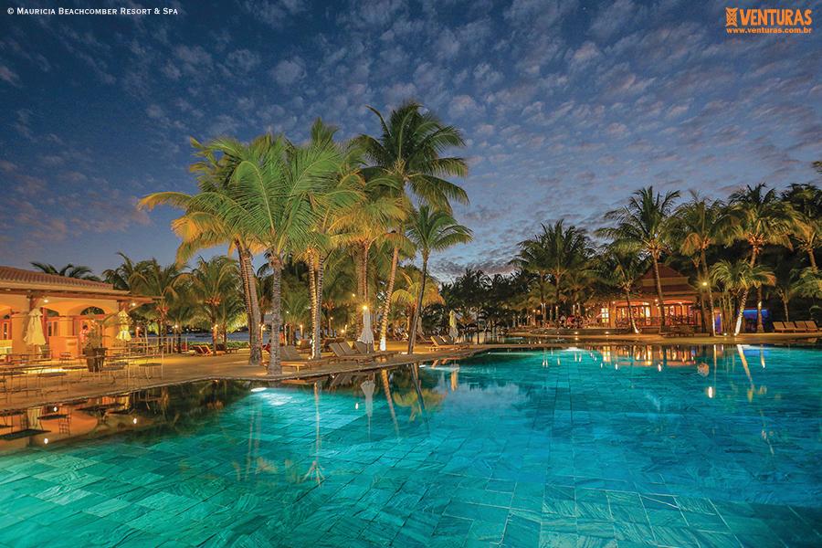 Ilhas Mauritius Mauricia Beachcomber Resort Spa - Ilhas Mauritius - O luxo da experiência