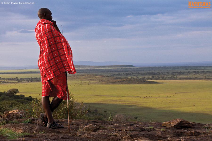 Kenya Tanzânia MaraPlainsCamp Landscape GreatPlainsConservation - Kenya e Tanzânia - A natureza selvagem do leste
