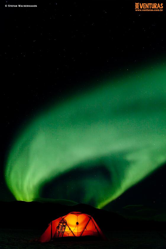 Canadá Aurora Boreal Stefan Wackerhagen 02 - Aurora Boreal no Canadá: como acompanhar esse fenômeno?