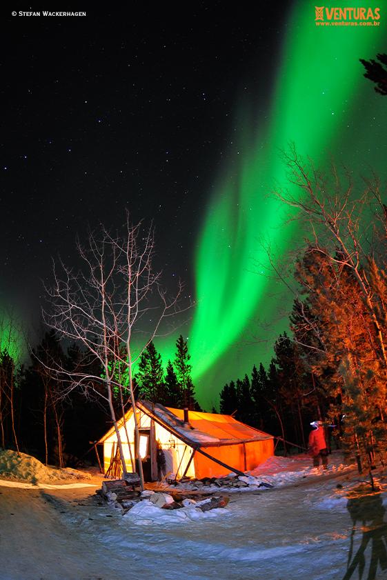 Canadá Aurora Boreal Stefan Wackerhagen 03 - Aurora Boreal no Canadá: como acompanhar esse fenômeno?