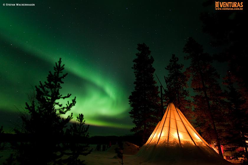 Canadá Aurora Boreal Stefan Wackerhagen 05 - Aurora Boreal no Canadá: como acompanhar esse fenômeno?