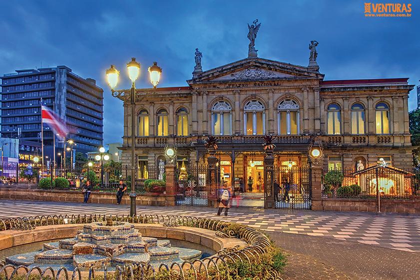 Costa Rica Teatro Nacional - Costa Rica - Pura Vida!