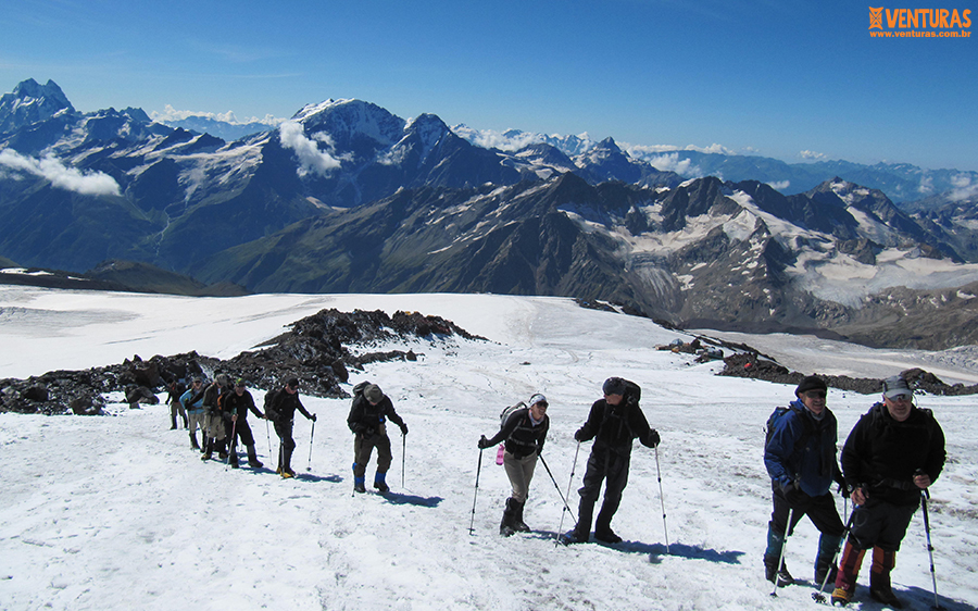 Monte Elbrus Morgado Expedições - Viagens em grupo com guia brasileiro: como funciona?