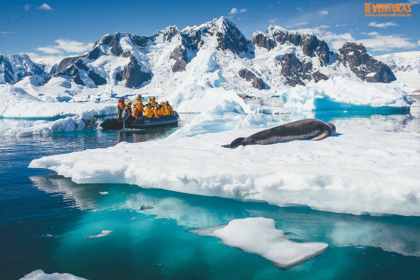 Antártida 06 - Antártida - O continente gelado