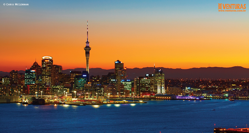 Nova Zelândia Chris McLennan 01 - Nova Zelândia - Onde uma experiência leva à outra