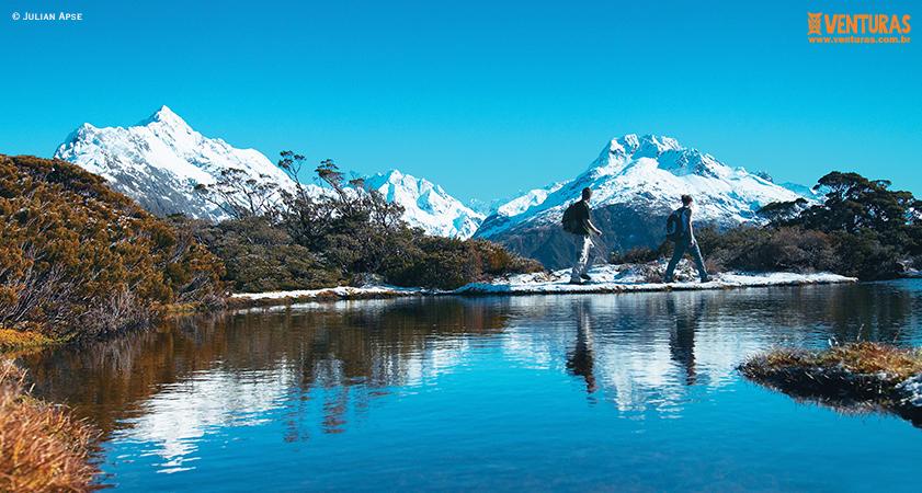 Nova Zelândia Julian Apse - Nova Zelândia - Onde uma experiência leva à outra