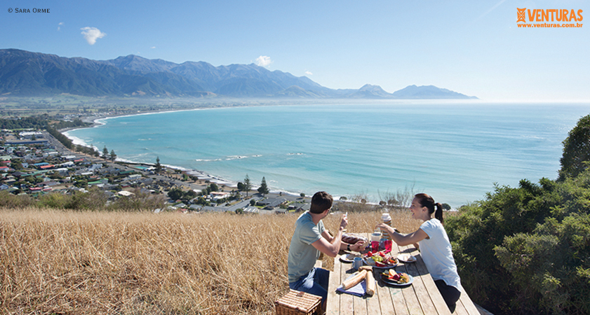 Nova Zelândia Sara Orme 01 - Nova Zelândia - Onde uma experiência leva à outra