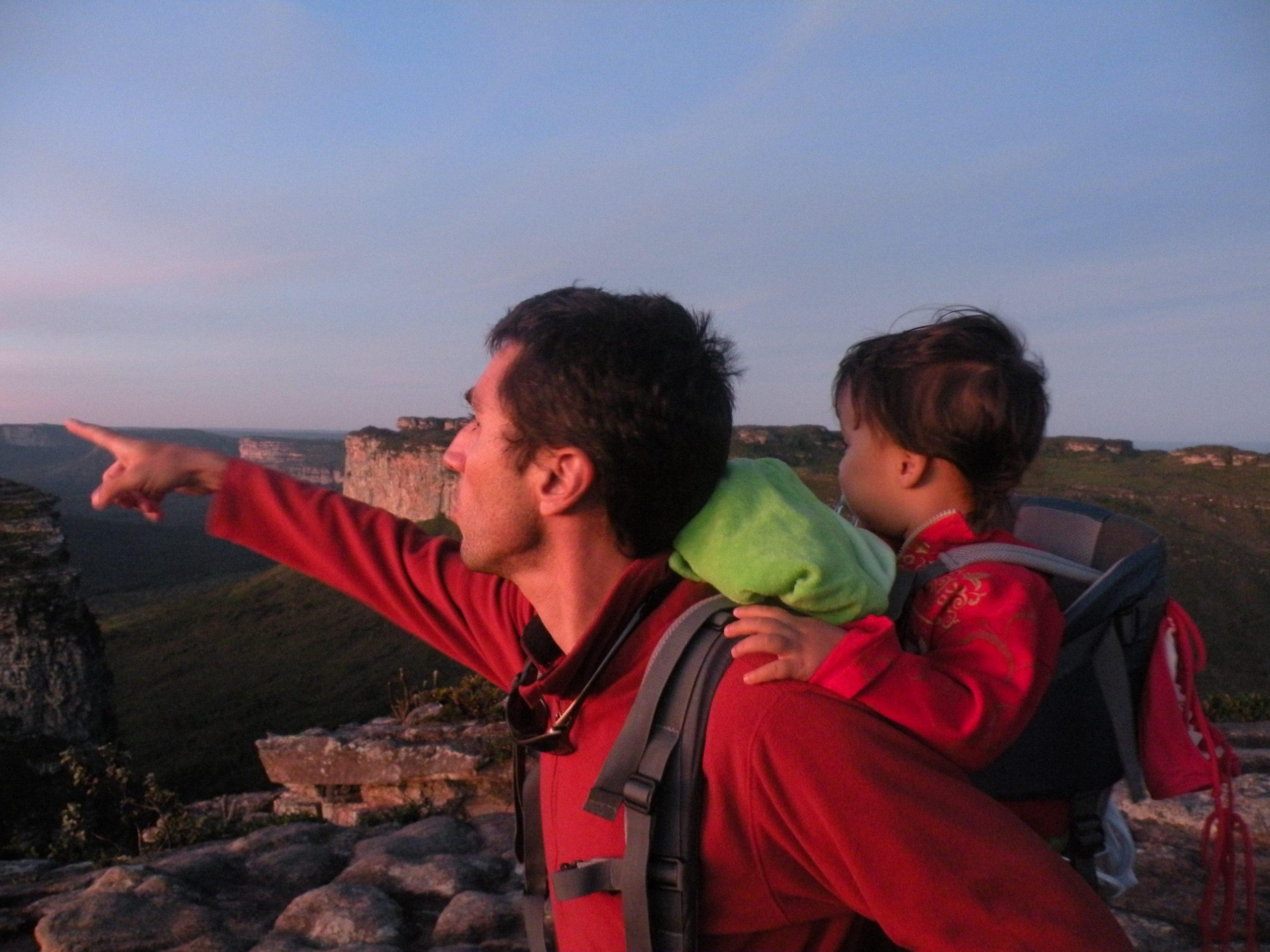 Pai Inacio 9 scaled - Dicas para viajar com bebês e crianças pequenas.